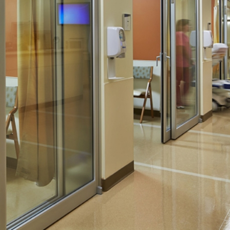 Clear View Door - Pintu Otomatis Transparan