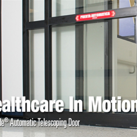 Healthcare Pintu Otomatis