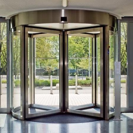 Pintu Otomatis SECURE Revolving Door