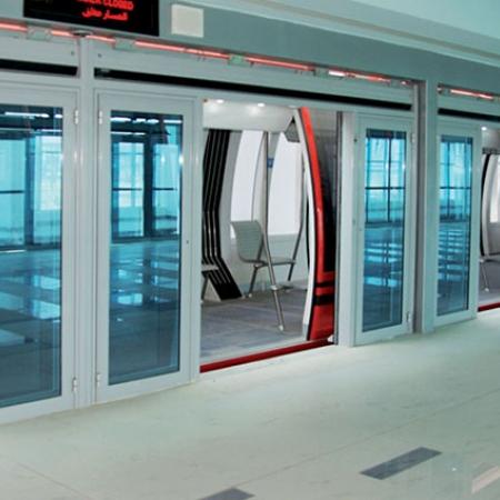 Pintu Otomatis Stasiun Kereta/MRT