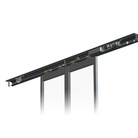 Slim Header Pintu Otomatis DSN-60/75/150S-HM