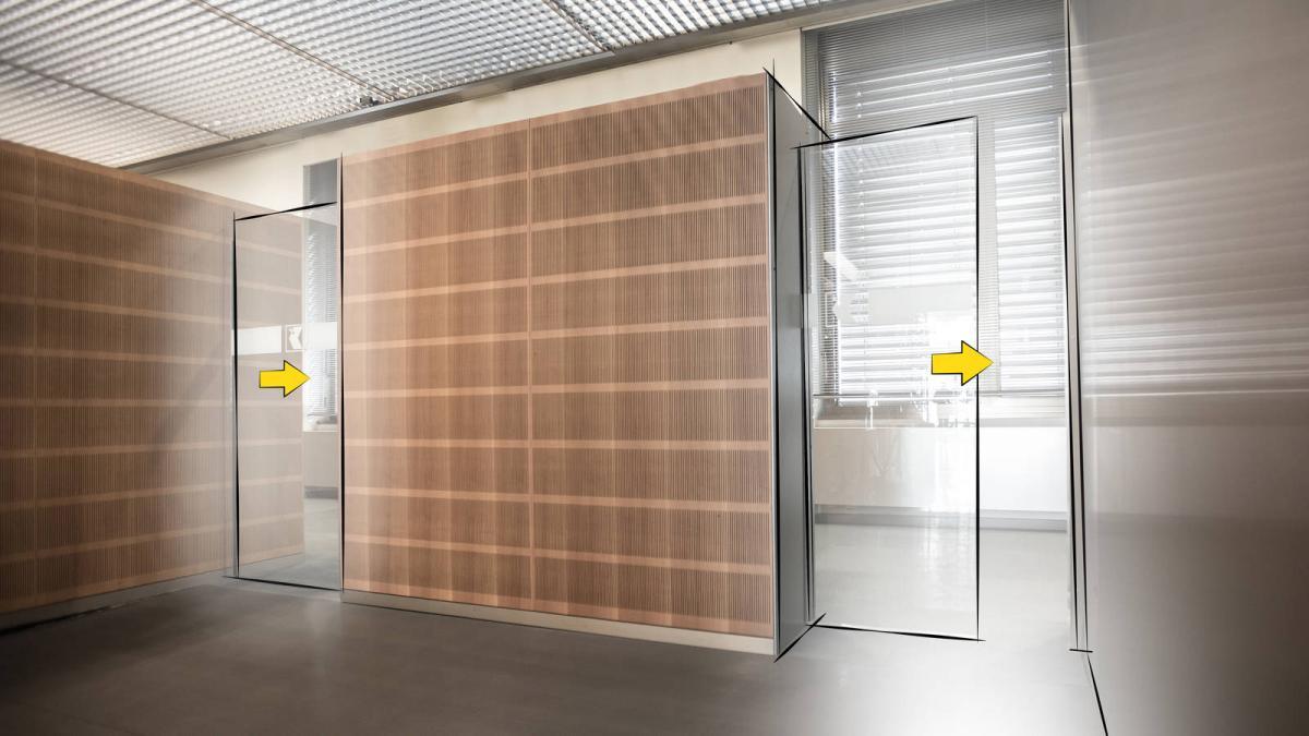 Pintu Otomatis Apartemen/Hotel Invisible Technology