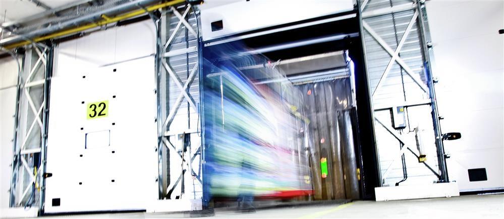 Pintu Otomatis Industri atau Gudang Pabrik
