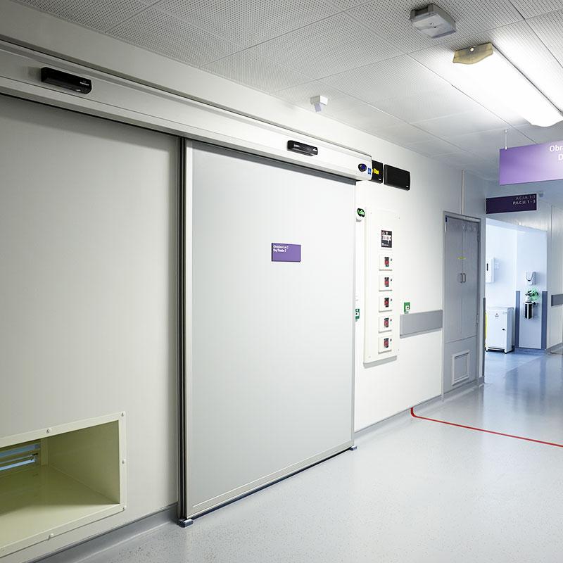 Pintu Otomatis Ruangan X-Ray
