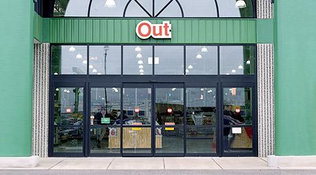 Pintu Otomatis Supermarket